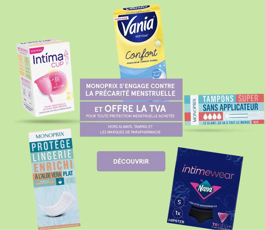 Précarité menstruelle