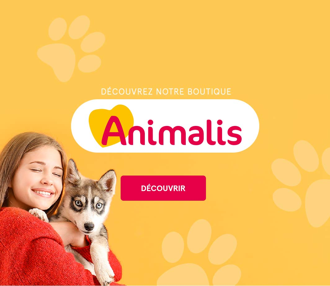 Boutique Animalis pour vos animaux
