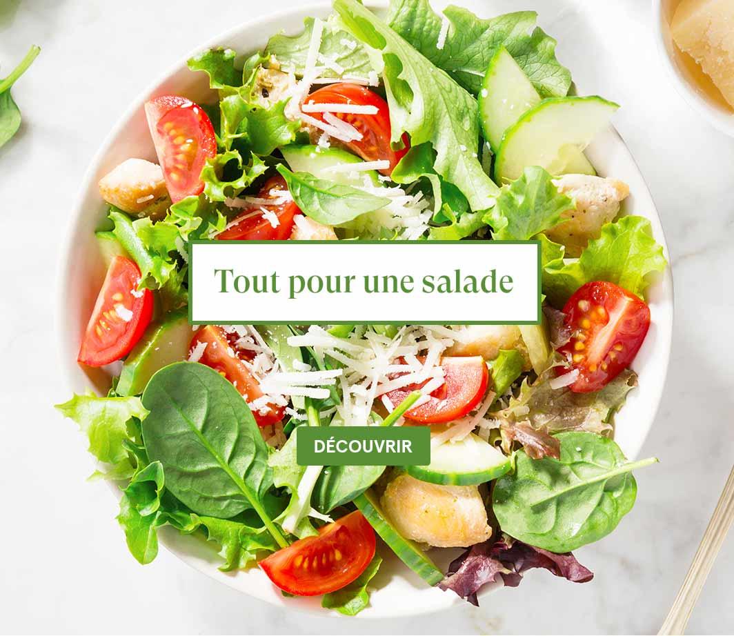 Tout pour faire sa salade