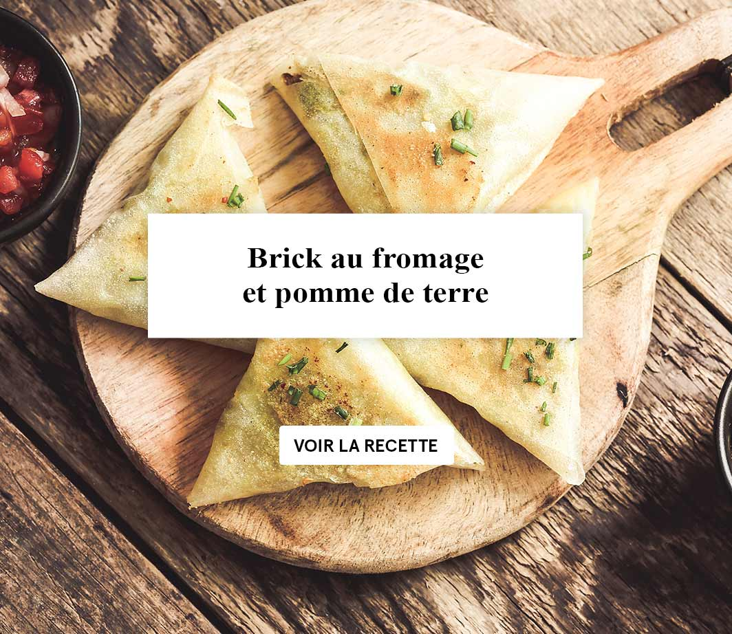 Brick au fromage - html