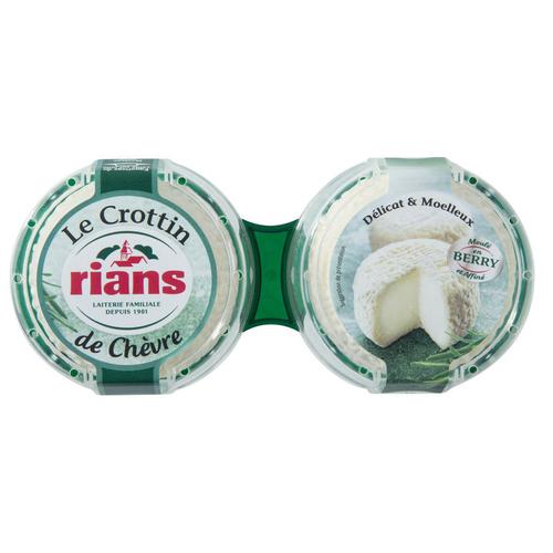 Rians Le Crottin de Chèvre 2x60g