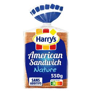 Harrys Pain de Mie Nature 550g.