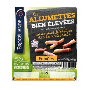 Brocéliande Les Allumettes fumées2 x 75g.