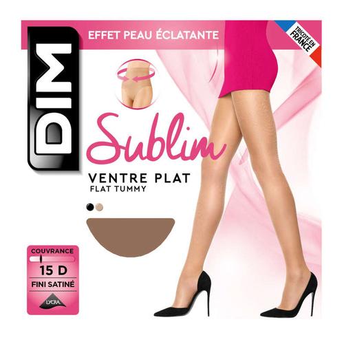 Collant Opaque Velouté, Noir, 40D, Sublim - Dim