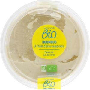 Monoprix Bio Houmous à l'huile d'olive vierge extra bio 180 g