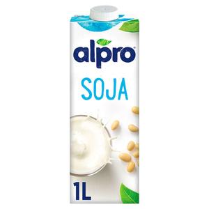 Alpro lait au soja la bouteille de 1L