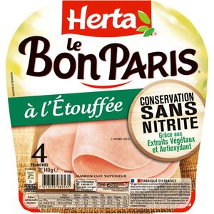 Herta Le Bon Paris HERTA Jambon à l'Etouffée 140g