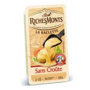RichesMonts La Raclette Sans Croûte 420g