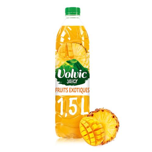 Volvic Juicy Boisson au jus de Fruits exotiques 1,5L.