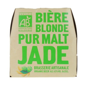 Jade Bière blonde bio 6 x 25cl