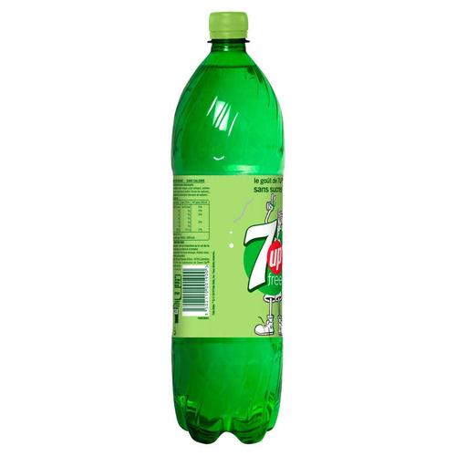 7UP Free boisson gazeuse au citron bouteille 1,5 L .