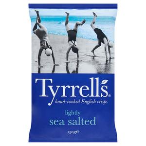 Tyrell's Chips de pommes de terre au sel de mer 150g
