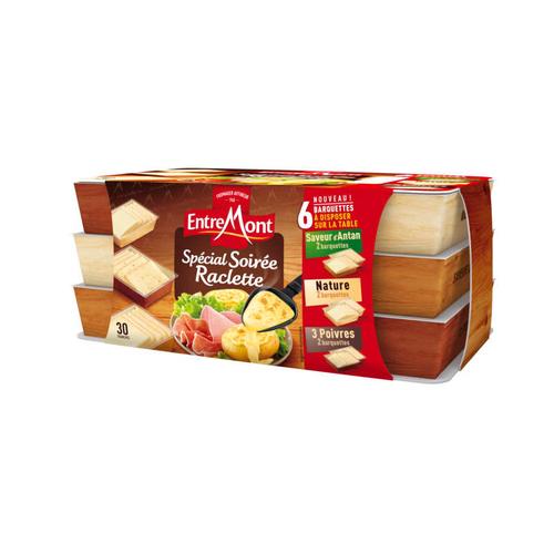 Entremont Assortiment de fromage Spécial Soirée Raclette 660G