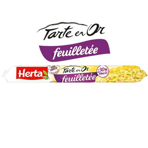 Herta Pate feuilletee -30 % mg 230g.