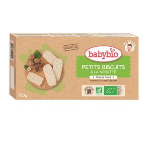 Babybio biscuit  noisette 12m 160g