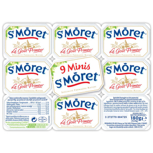 St Moret Nature 9 Portions 180g