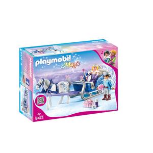 Playmobil Couple Royal et Calèche Magic