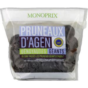 Monoprix Pruneaux d'Agen Géants Dénoyautés 500g