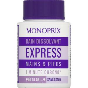 Monoprix Bain Dissolvant Express Mains et Pieds 75ml