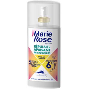 Marie Rose Anti Moustiques 2 En 1 Apaisant Et Répulsif 8H, Efficacité Prouvée, Effet Immédiat. 100ml