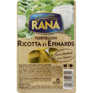 Rana Tortellini Ricotta et Epinards 125g