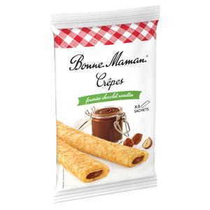 Bonne Maman Crêpes fourrées chocolat noisettes 192g.
