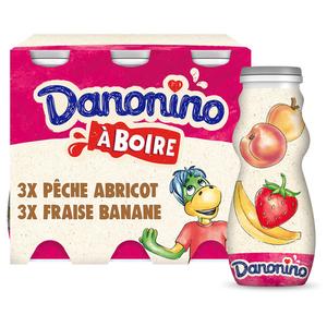 Danonino yaourt à boire aux fruits 6x100g
