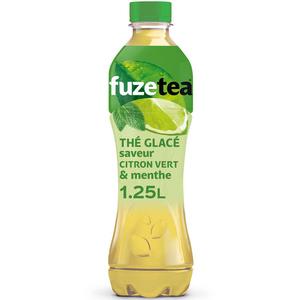 Fuze Tea thé vert menthe citron vert 1.25L.