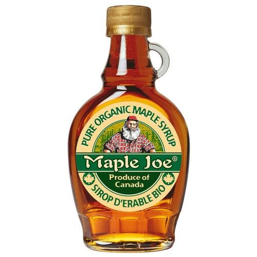 Maple Joe Sirop d'Erable Bouteille Bio 250g