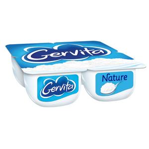 Gervita yaourt mousse nature le pack de 4x100g