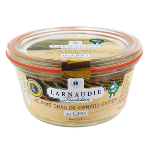 Larnaudie Foie gras de canard entier igp gers bocal 180g