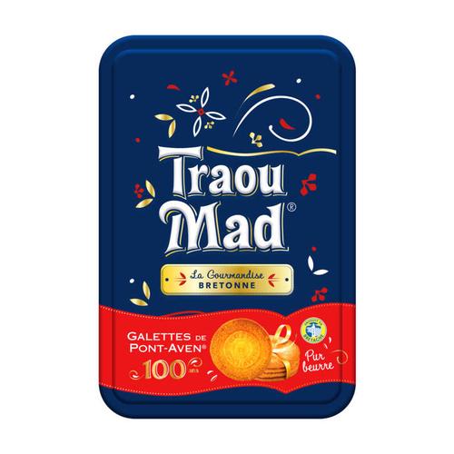 Traou Mad Coffret Noël 2020 Galettes Bretonnes au Beurre 300g