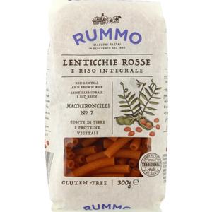 Rummo Maccheroncelli n°7 à base de farine de lentille corail et de riz 300g