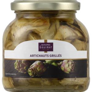 Monoprix Gourmet Artichauts grillés à l'huile de tournesol 170g