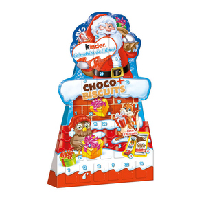Kinder Calendrier de l'Avent Biscuits 210g