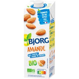 Bjorg Lait d'Amande Bio Goût Amande Léger 1l.