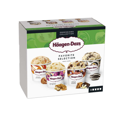 Haagen Dazs Minipot Favorite Selection Prem 318g