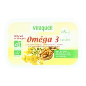Vitaquell Margarine Oméga 3 250G Bio