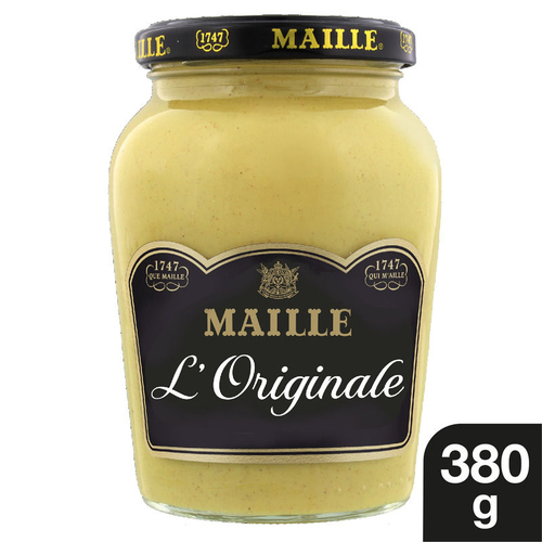 Maille Moutarde Fine de Dijon L'Originale Bocal 380g