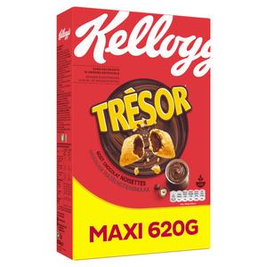 Kellogg's Céréales trésor chocolat noisettes Maxi 620g
