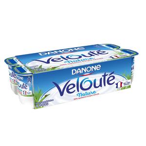Danone velouté yaourt nature le pack de 8x125g