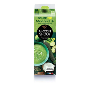 Green Shoot Soupe Courgette Lait De Coco & Curry Vert Bio