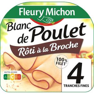 Fleury Michon Blanc de Poulet Rôti à la Broche 120g