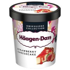 Haagen Dazs Pot Strawberry cheesecake Prem 400g.