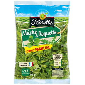 Florette duo mâche & roquette 174g