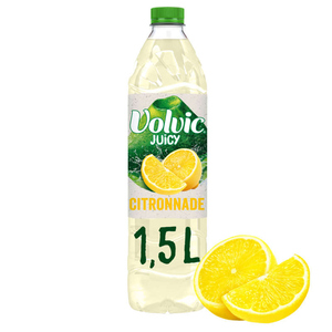 Volvic Juicy Jus de citron 1,5L.