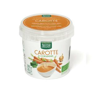 Ferme D'Anchin soupe carotte et coriandre, certifié ab 300ml