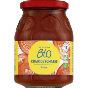 Monoprix Bio Chair de Tomates Nature 400g