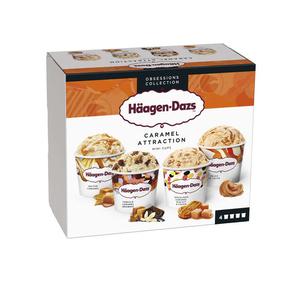 Haagen Dazs Minipot Caramel Attraction Prem 321g