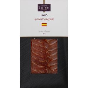 Monoprix Gourmet Lomo Spécialité Espagnole 80g